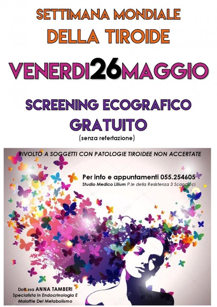 Screening Ecografico Gratuito alla Tiroide