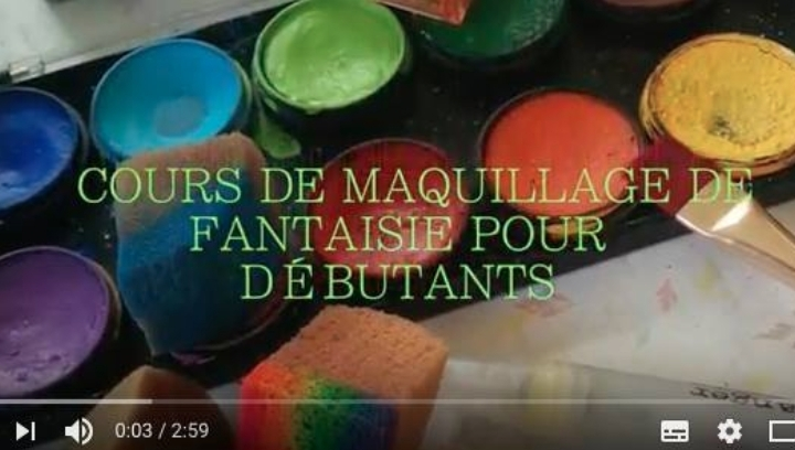 cours de maquillage de fantaisie d butant hochelaga montr al 25 may 2017. Black Bedroom Furniture Sets. Home Design Ideas
