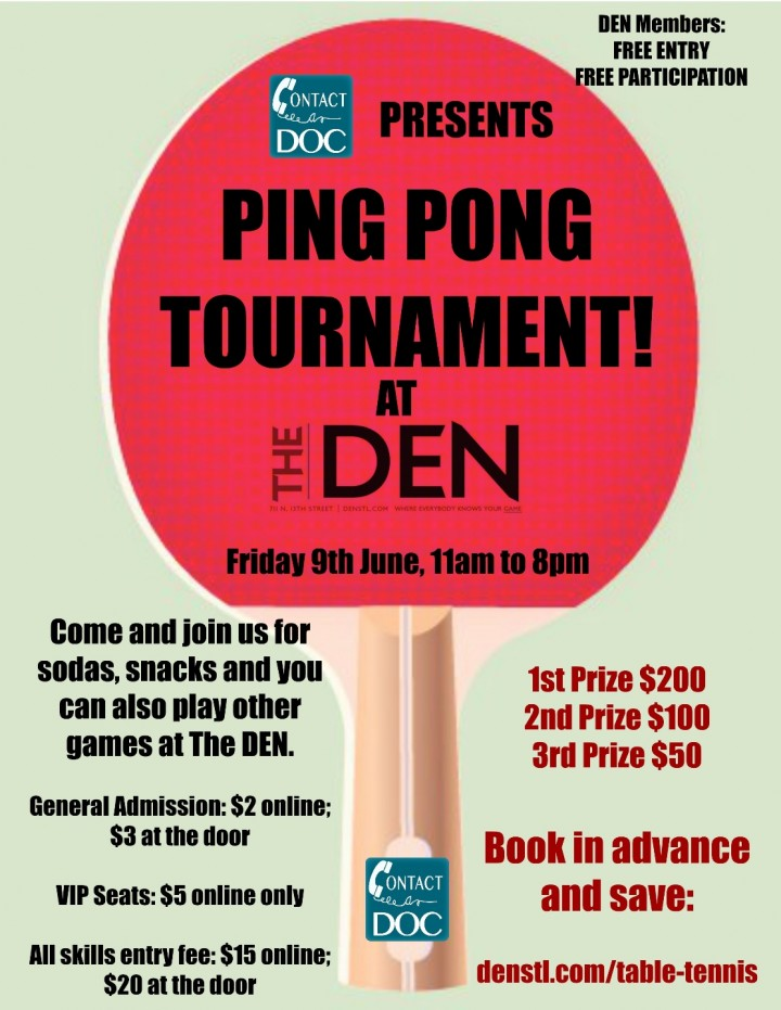 PING PONG TOURNAMENT