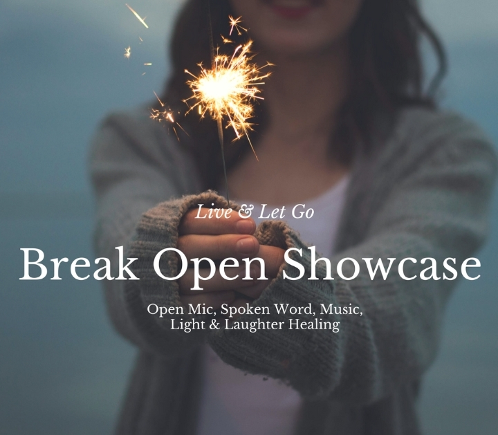 `Forgive to Live` Music, Laughter Healing, Open mic Showcase