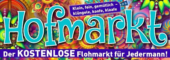 Hofmarkt - Der kostenlose Flohmarkt