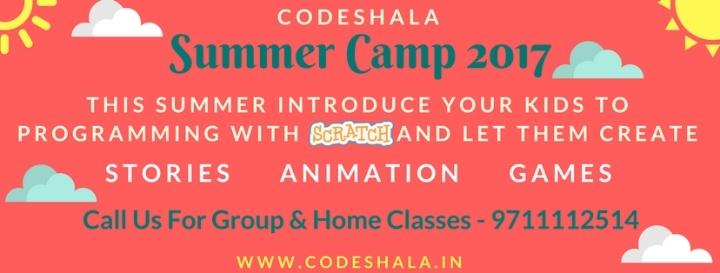 Summer Coding Camp In Delhi/NCR