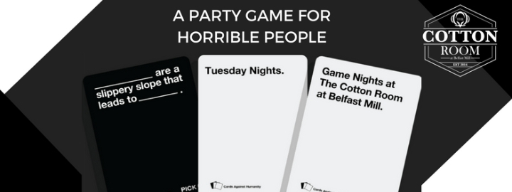Cards Against Humanity Game Night