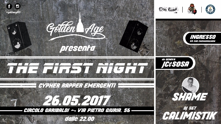 Golden Age presenta: The First Night