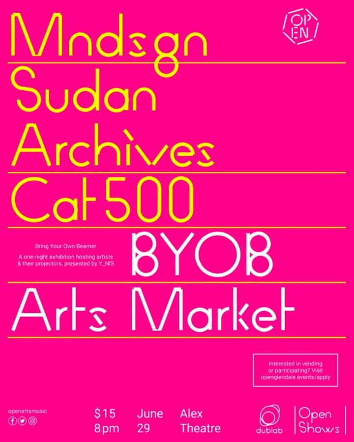 Open Shows: Mndsgn, Sudan Archives, Cat500