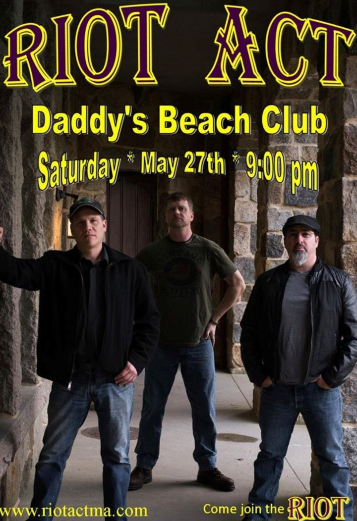 Riot Act at Daddy's Beach Club