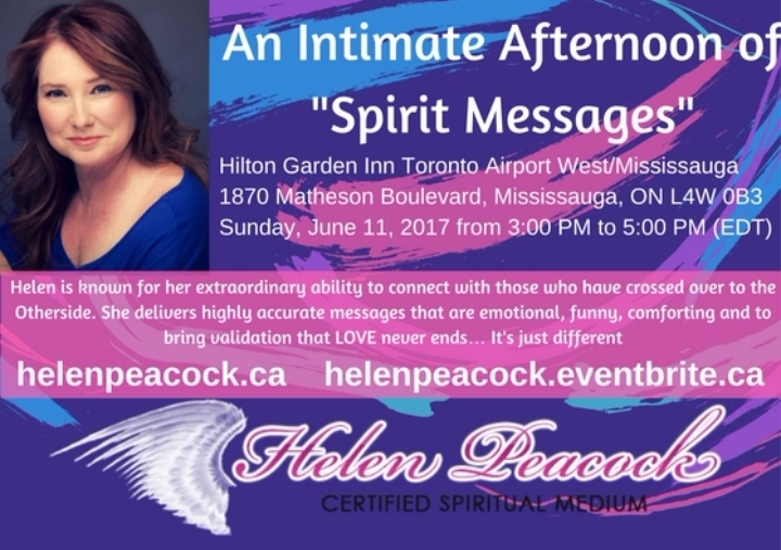 """An Intimate Afternoon of """"Spirit Messages"""""""