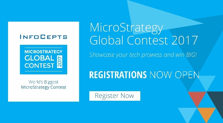 InfoCepts Global MicroStrategy Contest 2017