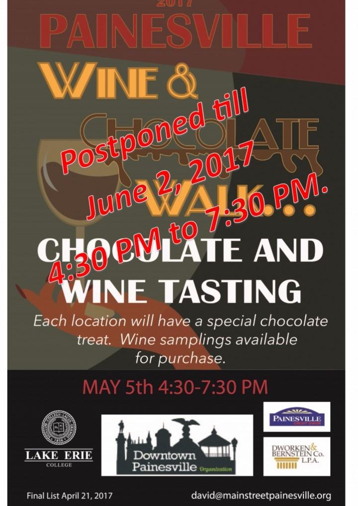 Chocolate and Wine Walk