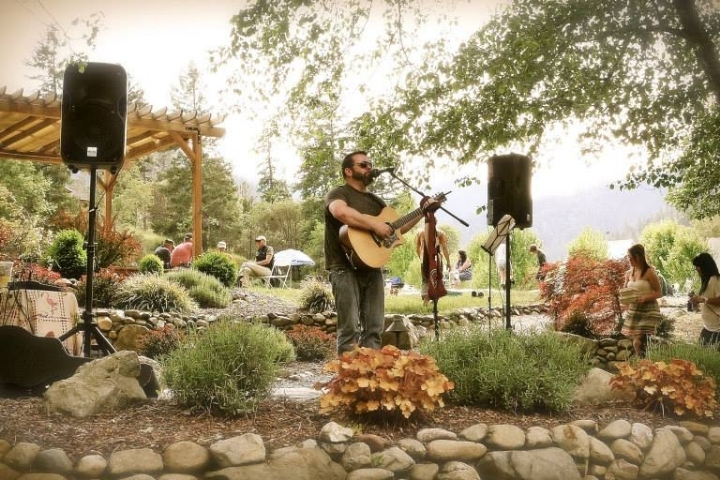 Seth Hansson at Valley View Winery