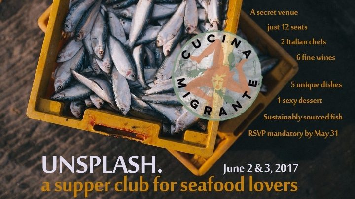UNSPLASH - A Supper Club For Seafood Lovers