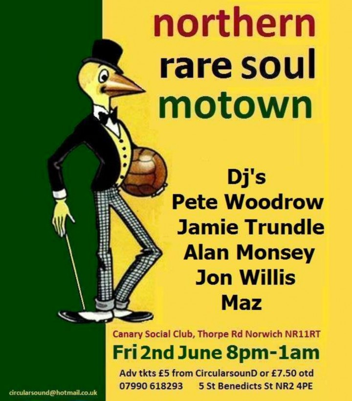 Northern, Rare Motown and Soul Night