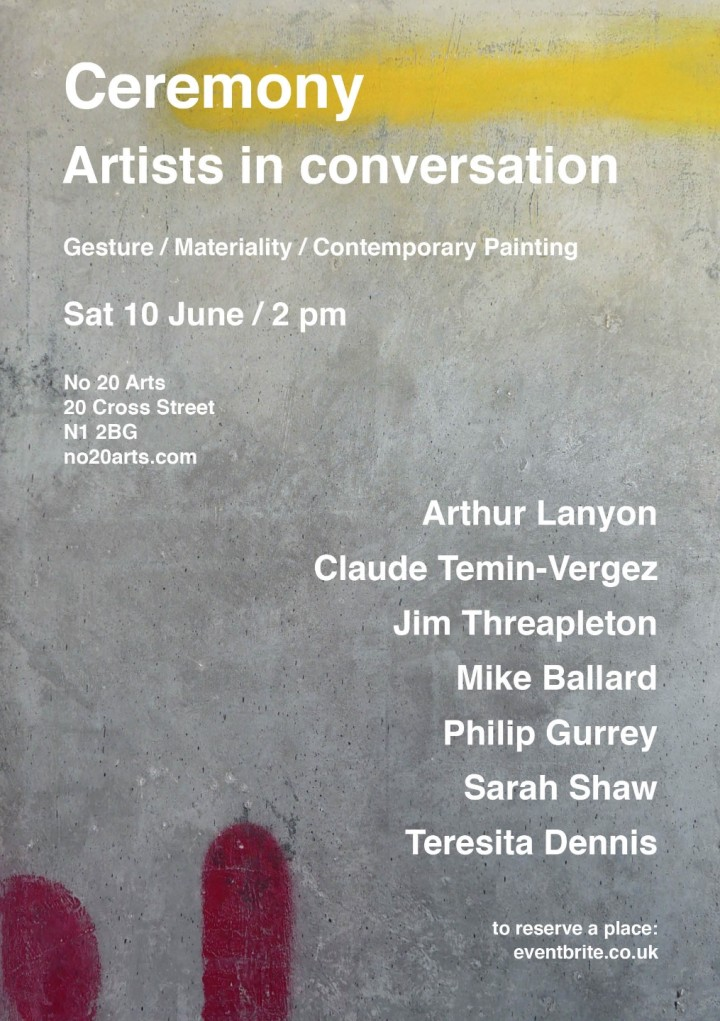 Ceremony: Artists in conversation