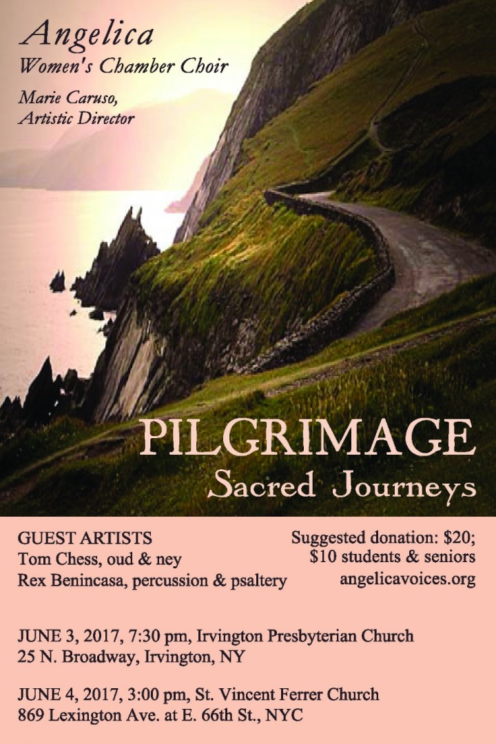 "Angelica Presents ""Pilgrimage: Sacred Journey"