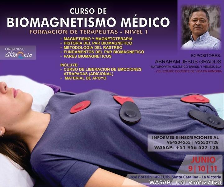 Curso Biomagnetismo Médico