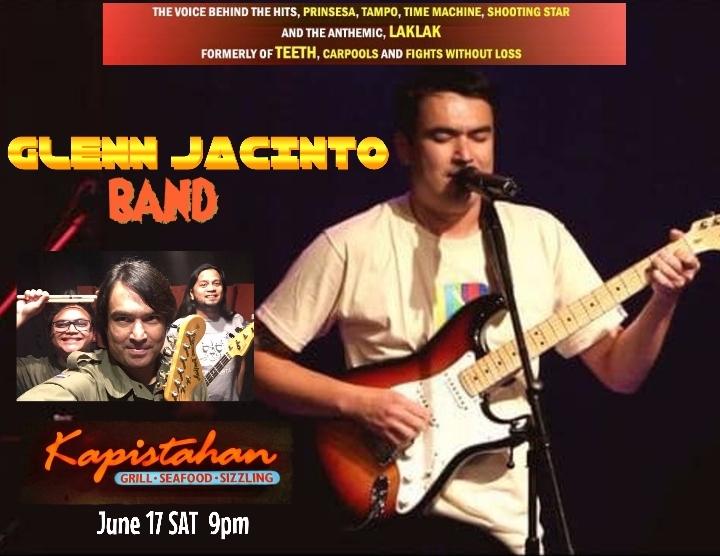 GLENN JACINTO BAND LIVE!