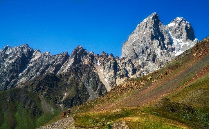 Trekking et Alpinisme en Géorgie