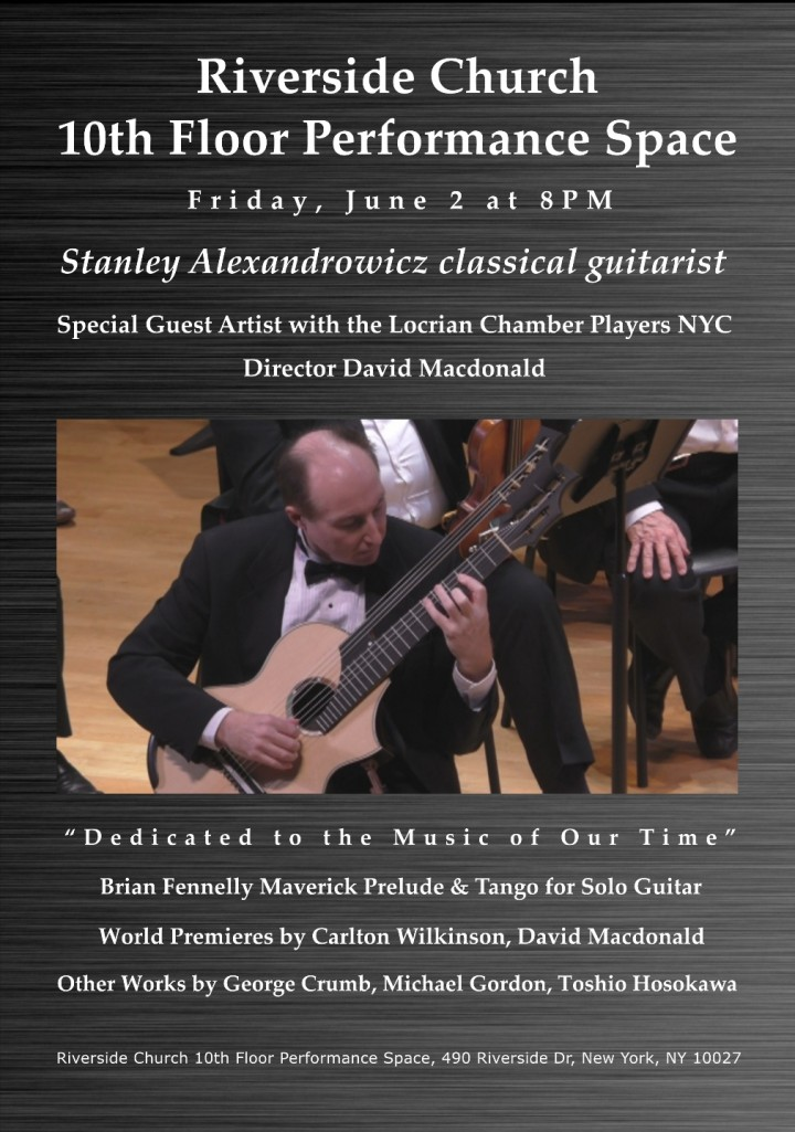 Stanley Alexandrowich, Special Guest Artist w