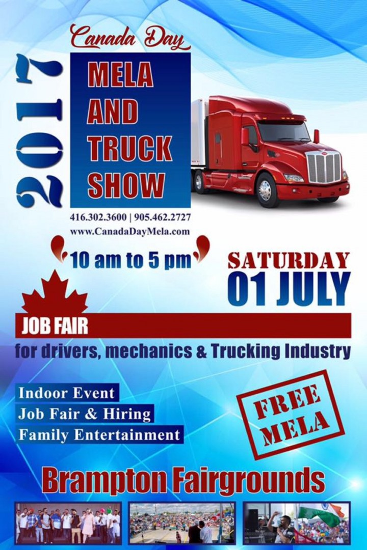 Canada Day Mela And Truck Show