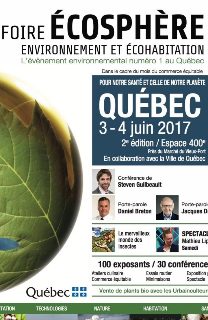 Foire ÉCOSPHÈRE de Québec