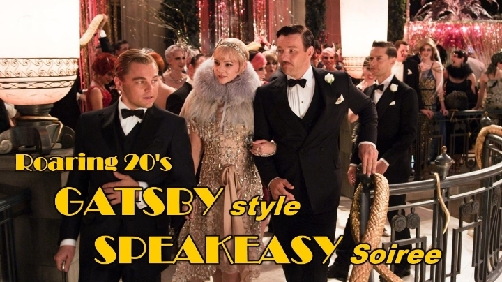 Come Party Like GATSBY! A Roaring 20's GATSBY