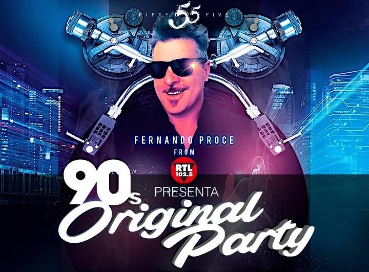 Fernando Proce presenta 90's Original Party