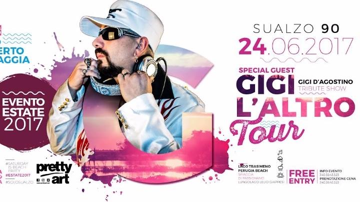 24.06 Sualzo Beach ✮ GIGI L' ALTRO official tour ✮ Sualzo 90