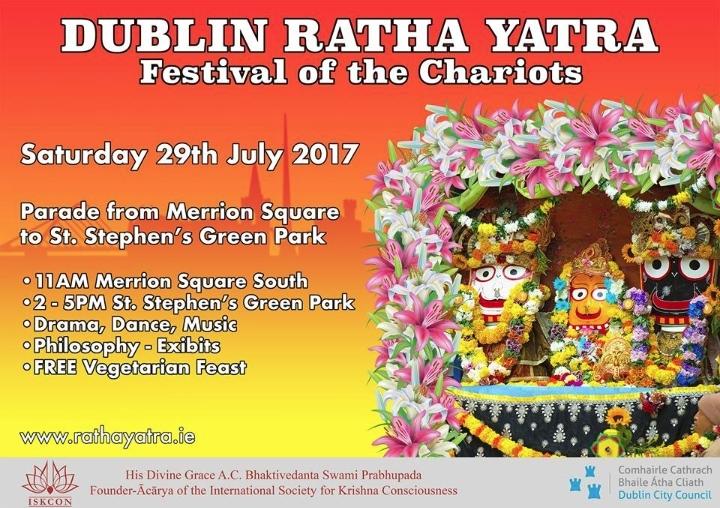 Rathayatra Dublin 2017