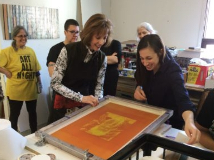 Workshop: Intro to Photographic Silkscreen Pr