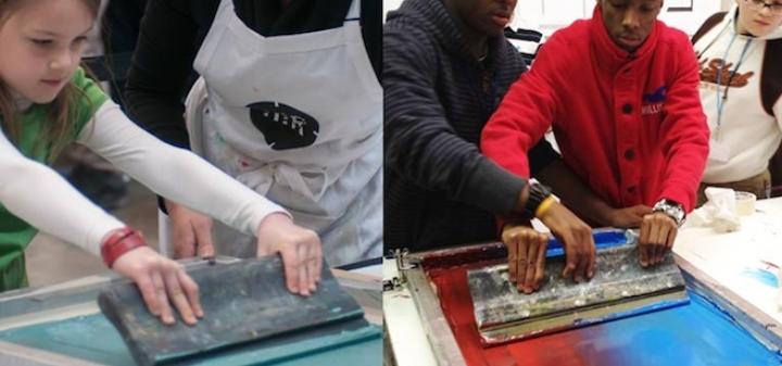 Youth Printmaking Classes at AIR