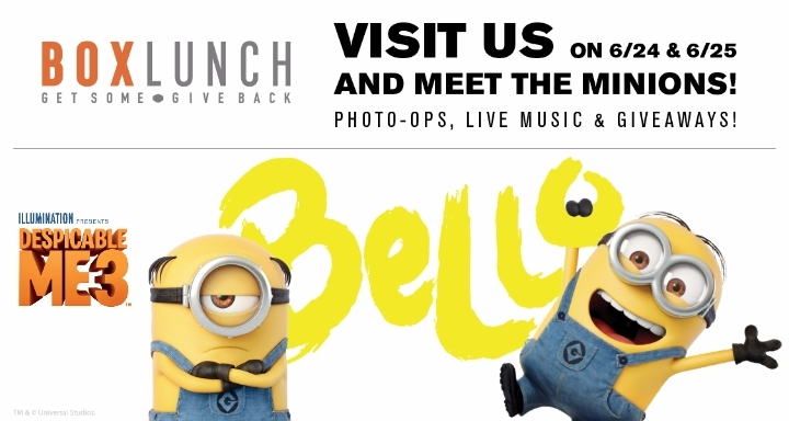 Minions Unleashed at San Francisco BoxLunch Store