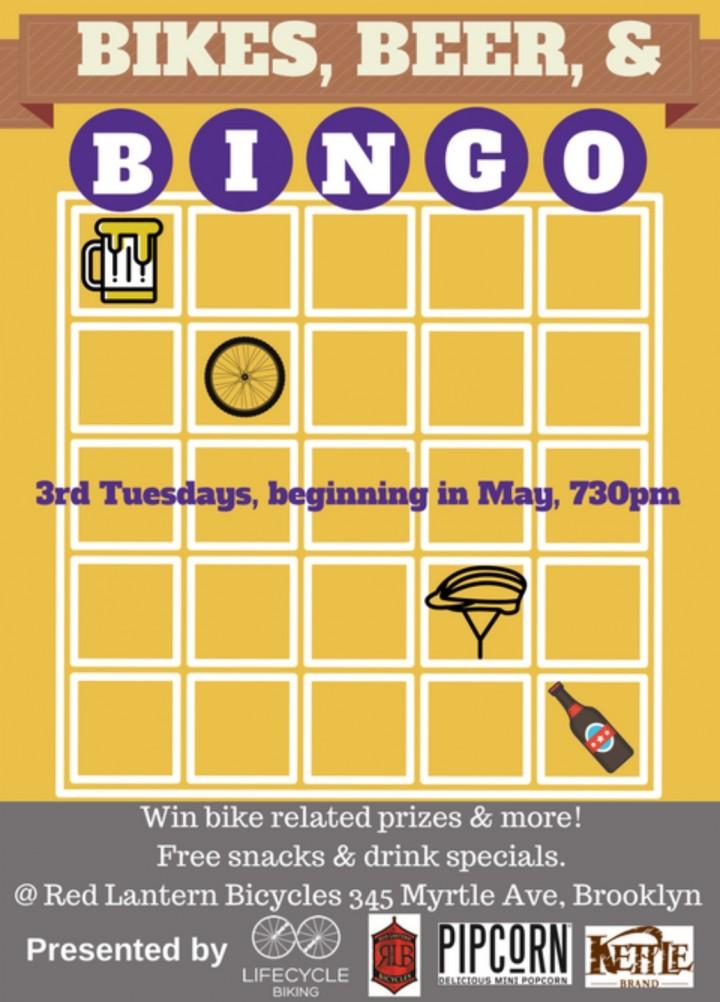 Bikes, Beers, & Bingo!