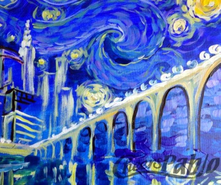 Paint and Sip! Starry Night Twin Cities