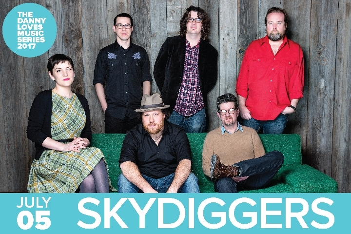 Skydiggers - The Danny Loves Music Series 201