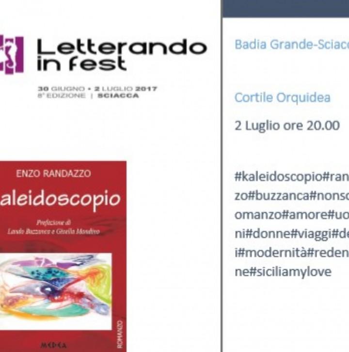 Kaleidoscopio di Enzo Randazzo al Letterando