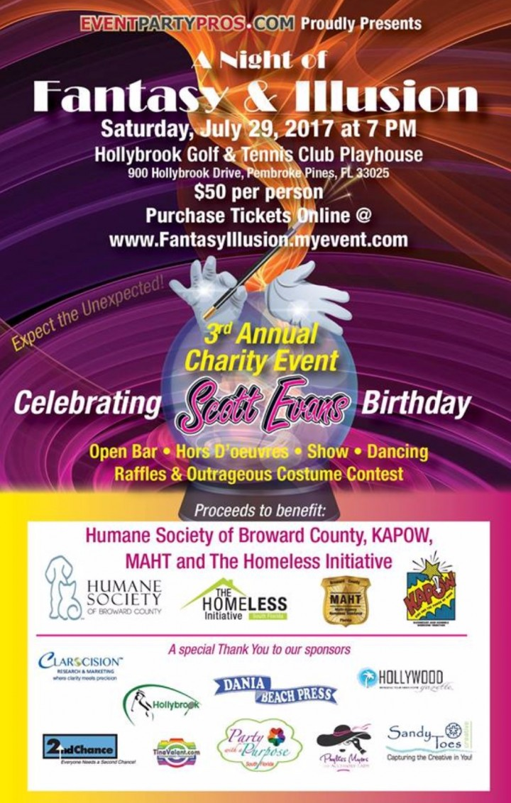 3rd Annual Charity Event - A Night of Fantasy