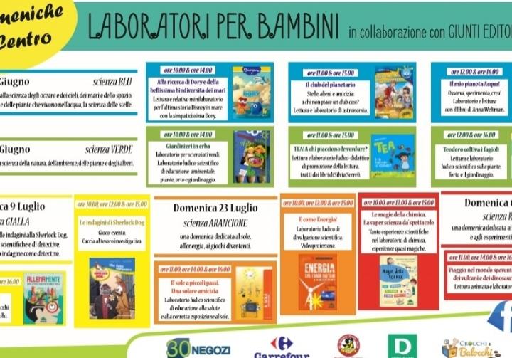 Calenzano: Libri, laboratori, letture e promo