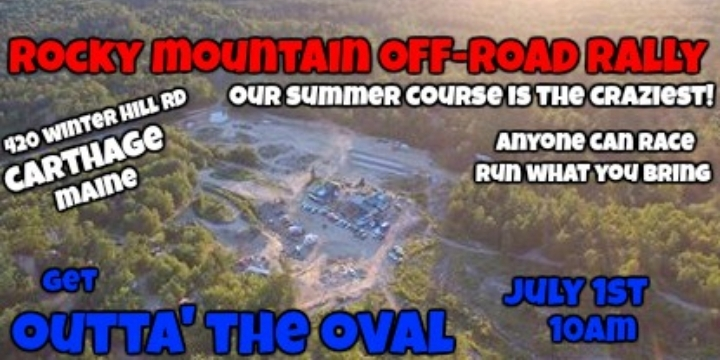 Outta' the Oval Off-Road Rally