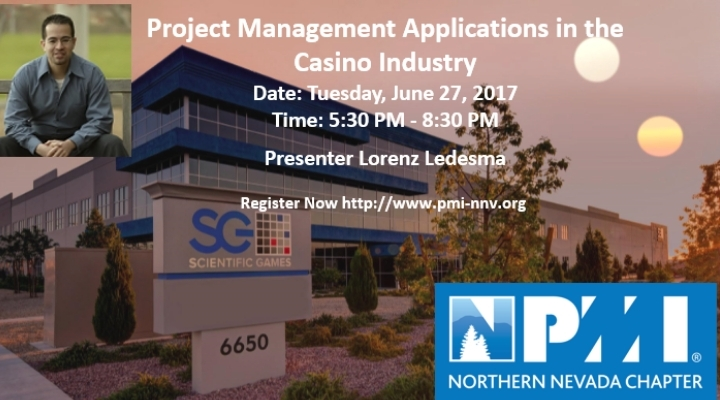 PMI Northern Nevada June 27 Meeting & Dinner