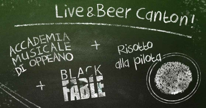Live&Beer Canton | A.M.O. / Black Fable + Ris