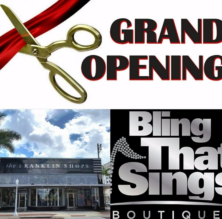 Grand Opening Bling That Sings Boutique