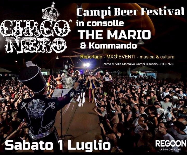 Reportage MXO EVENTI Circo Nero Campi beer Fe