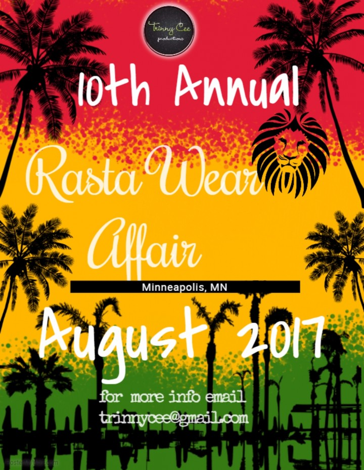 10TH ANNUAL RASTA WEAR FASHION AFFAIR