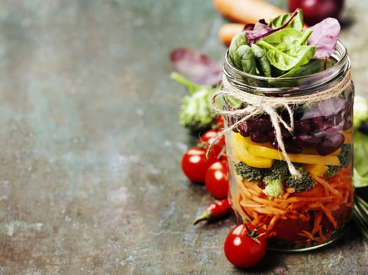 Salad in a Jar: a Cooking Class