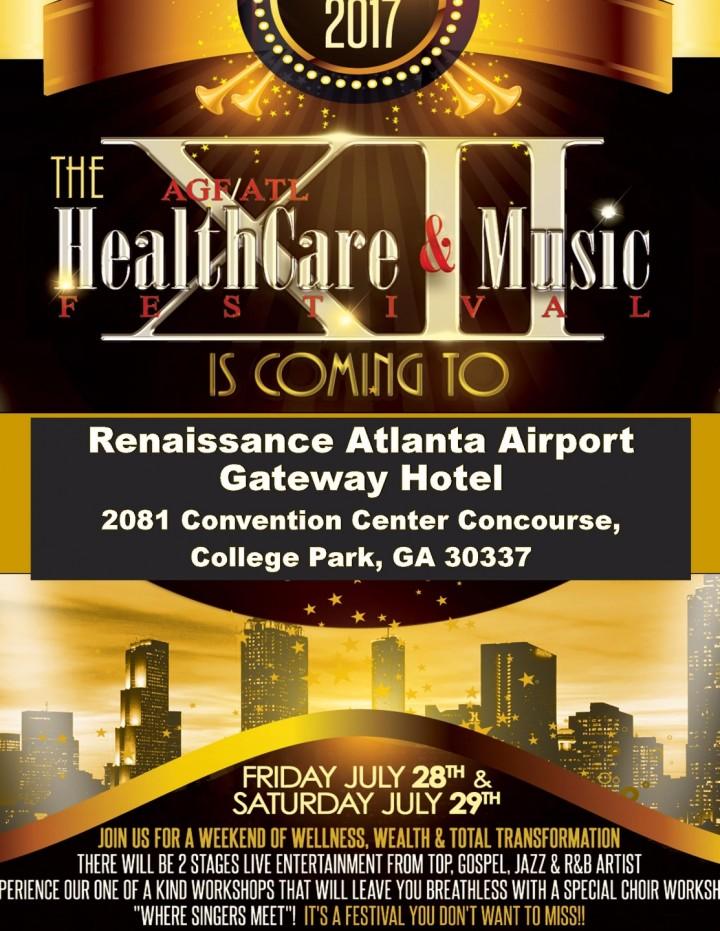 12th Annual Atlanta Health Care & Music Festi