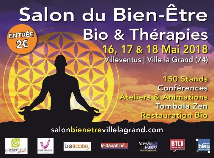 SALON DU BIEN-ETRE, BIO & THERAPIES VILLE LA GRAND (74)