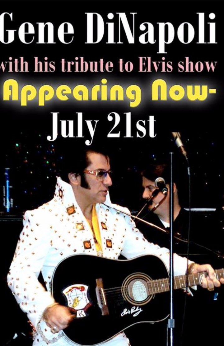 Elvis back in Yonkers NY with Gene DiNapoli