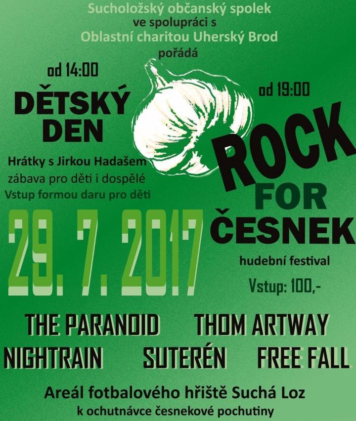 Rock for Česnek - Suchá Loz