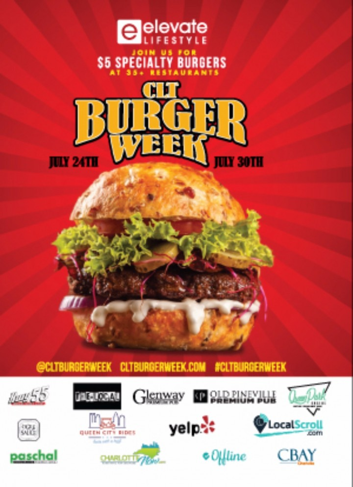 2nd Annual CLT Burger Week 2017!