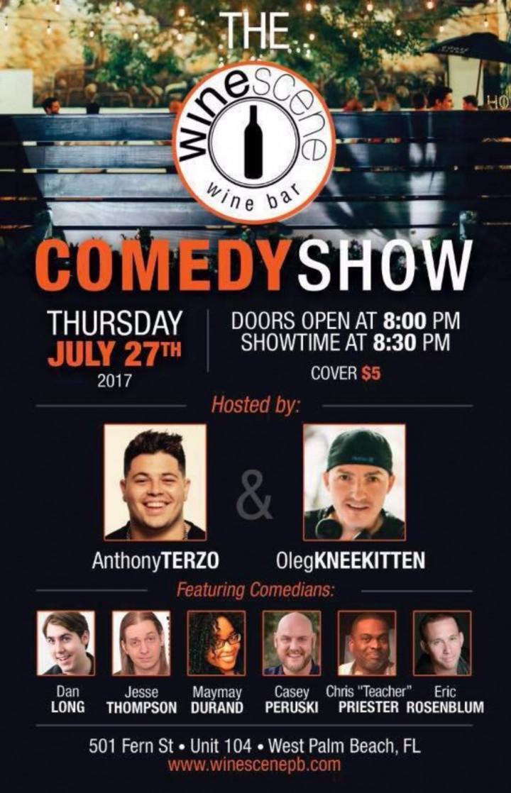 Stand Up Comedy Show @ Wine Scene!